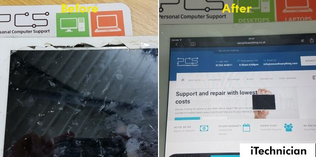 iPad 3 Screen Replacement in Blackburn