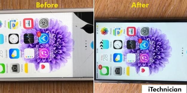 iPhone 6 Screen Replacement in Salford