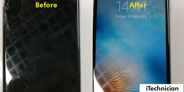 iPhone 6 Screen and Flex Cable Repair in Trowbridge