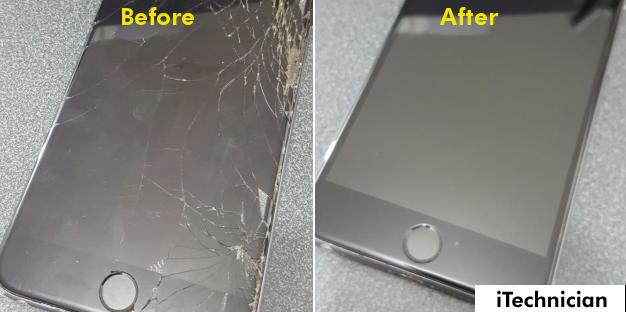 iPhone 6 Plus Screen Repair in Forest Gate