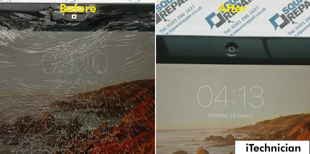 iPad 2 Screen and Home Button Repair in London