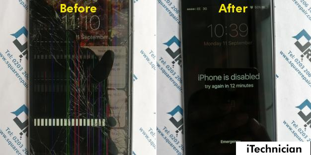 iPhone 6 Screen Repair in London